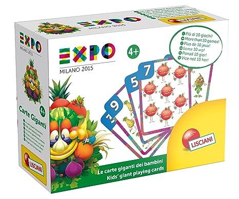 Lisciani 50512 - Expo Cartas gigantes: Amazon.es: Juguetes y ...