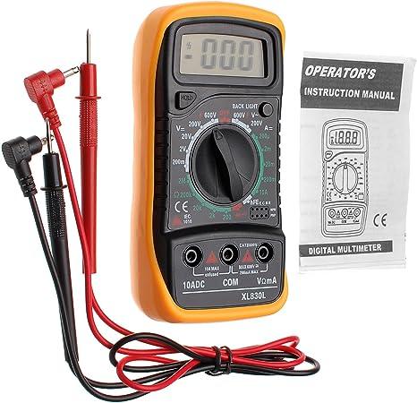 Useful Digital Multimeter Voltmeter AC DC Voltage Tester Circuit Checker Buzzer