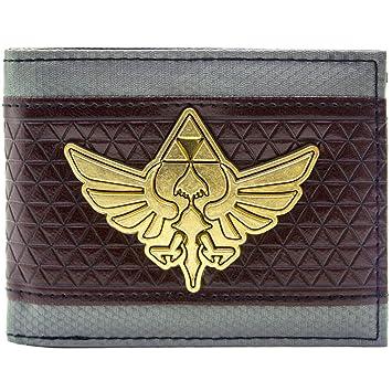 fd6cca5e38f7a Nintendo Zelda Triforce Multicolore Portefeuille: Amazon.fr: Bagages