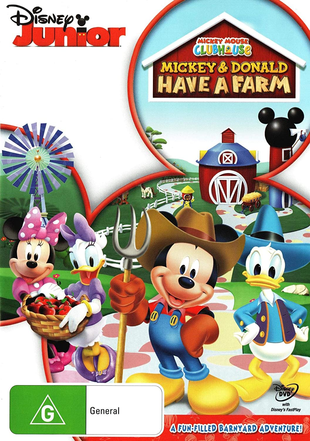 Amazon Com Mickey Mouse Clubhouse Mickey And Donald Have A Farm Non Usa Format Pal Region 4 Import Australia Movies Tv