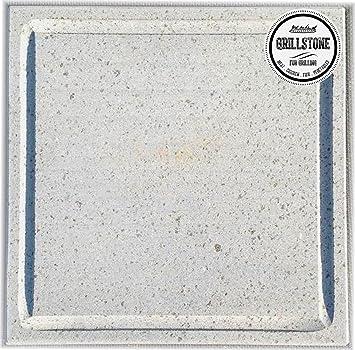 Grillstone Parrilla Piedra Lava de Barbacoa Stone® Dimensiones 30 x 30 x 2 cm