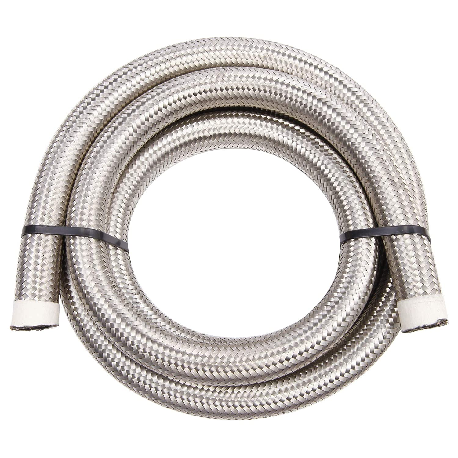 Stainless Steel Braided Fuel Oil Line Hose 2 Meter High Temperature Resistant Cooler Oil Pipe