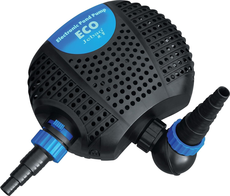2 entr/ées. Jebao OME 8000 Eco Pompe de Bassin /éconerg/étique pour la Filtration ou les Cours dEau 8000L//H