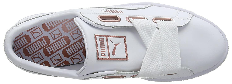 Puma Puma Puma Damen Basket Heart Leather Turnschuhe  077731