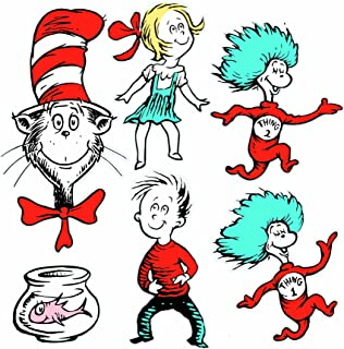Eureka Large Dr Seuss Characters Deco Kit 840226