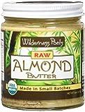 Wilderness Poets Raw Almond Butter - Organic Raw Almond Butter - 8 oz (227 g)