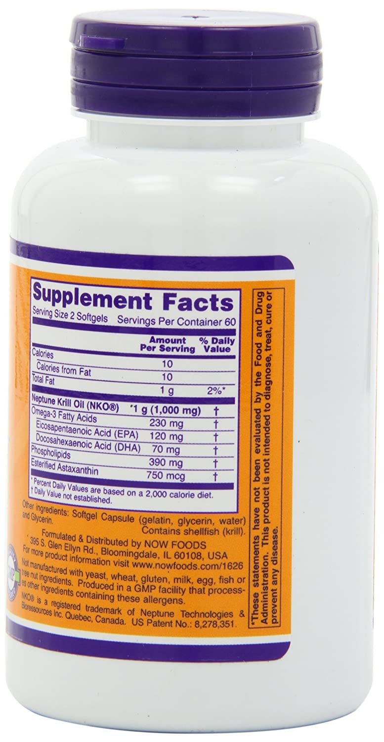 Now Foods Neptune Krill Softgels Image 3
