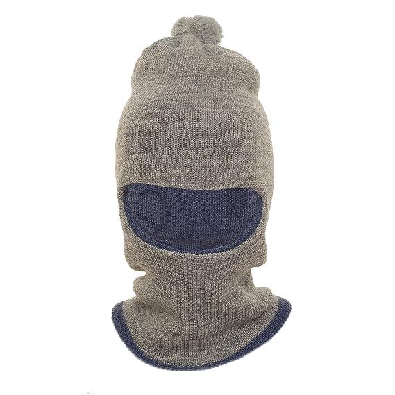 73420c9d7bd ... Mens Gloves  official photos 71221 d40ef HIVER Unisex Wool Monkey Cap  (Ash) ...