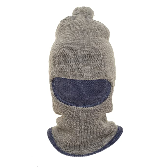 1fd6506599a HIVER Unisex Wool Monkey Cap (Ash)  Amazon.in  Clothing   Accessories