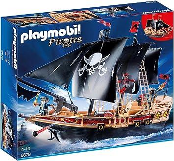Playmobil 6678 Bateau Pirates Des Tenebres Amazon Fr Jeux Et Jouets