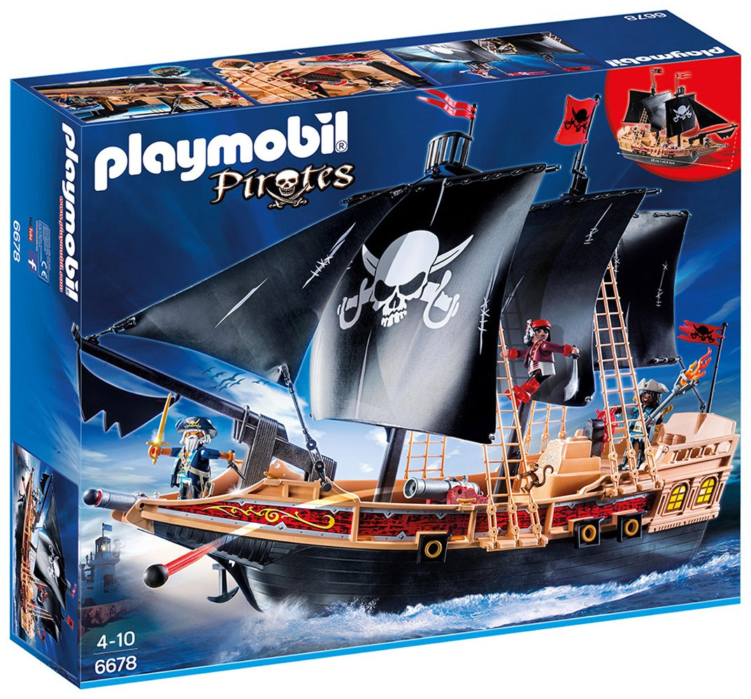 barcos piratas de playmobil baratos