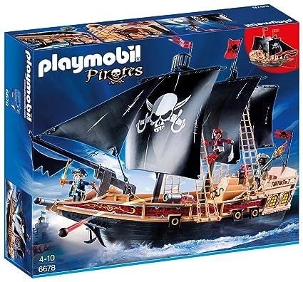 Amazon Playmobil Pirate Raiders Ship Playmobil Toys Games