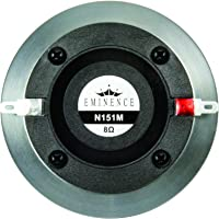 """Eminence N151M-8 Ring Radiator 1"""" Compression Driver, 45 Watts at 8 Ohms"""
