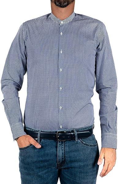 Marcus - Camisa de hombre by Delsiena blanca con ...