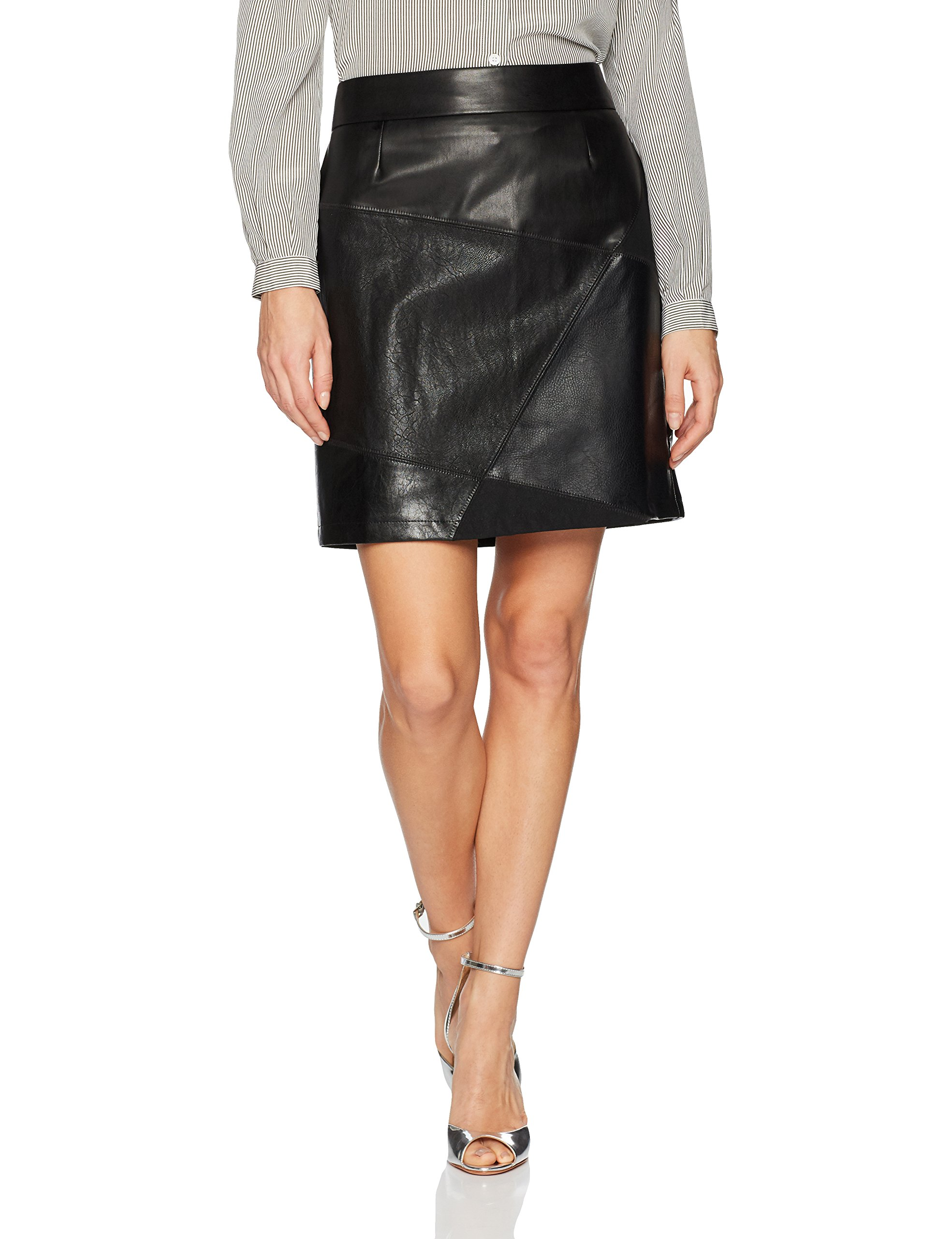 Desigual Women's Henry Woman Woven Short Skirt, black, L