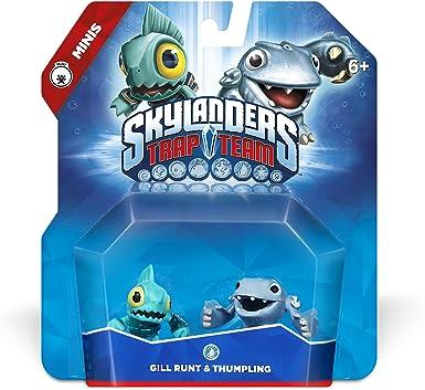 Skylanders Trap Team: Gill Runt & Thumpling - Mini Character 2 ...