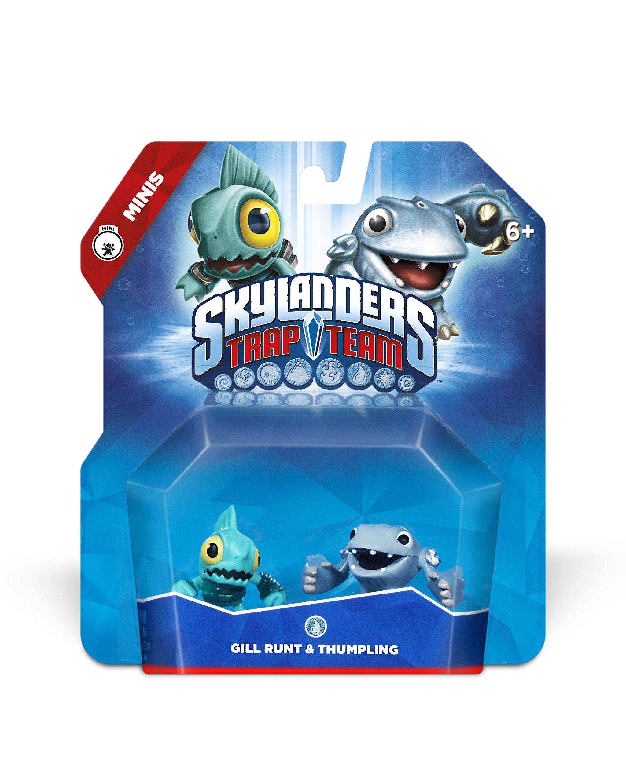 Skylanders Trap Team: Gill Runt & Thumpling - Mini Character 2 Pack