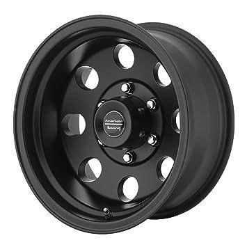 Amazon Com American Racing Ar172 Baja Satin Black Wheel 17x9