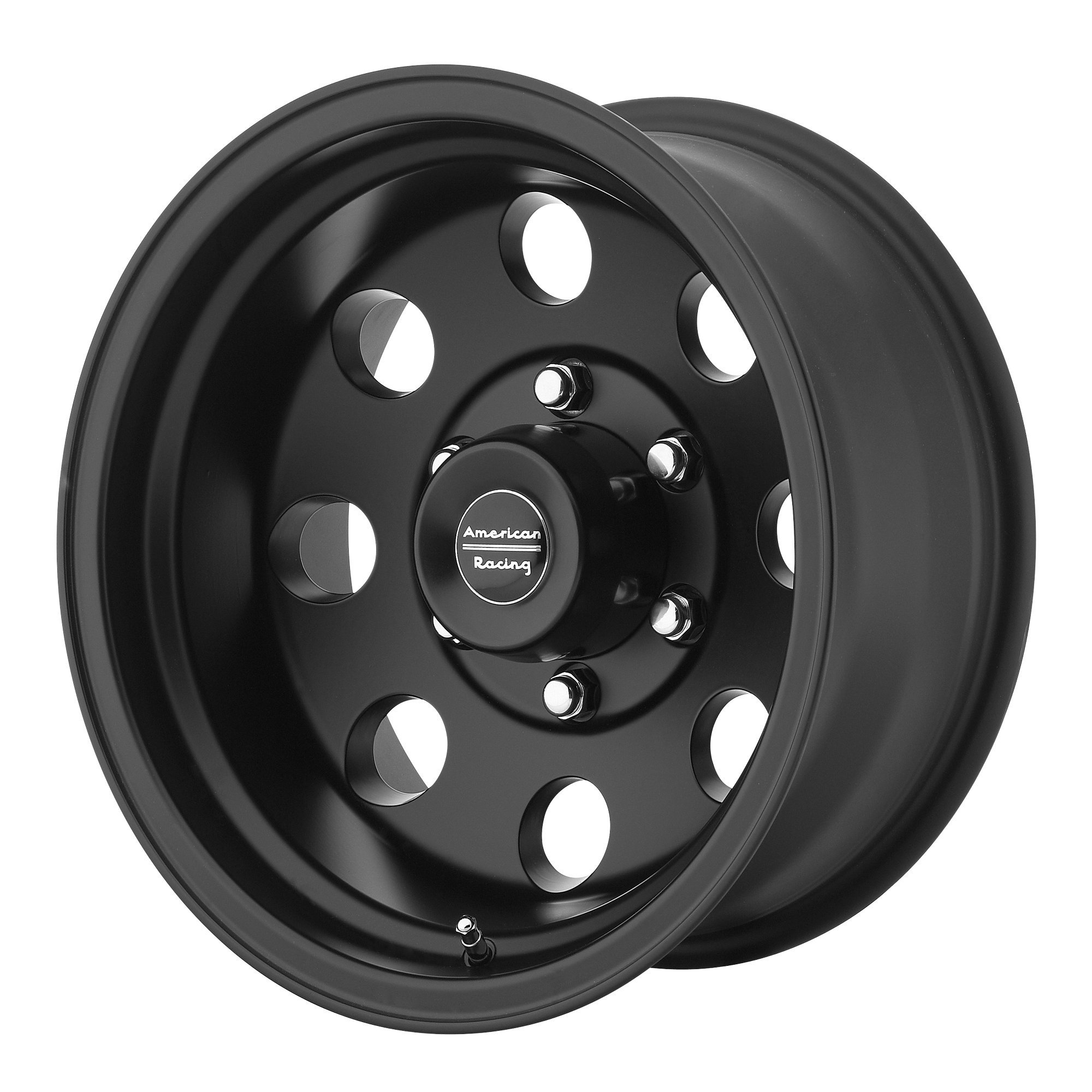 American Racing Custom Wheels AR23 Satin Black Wheel With Clearcoat (15x10''/5x139.7mm, -44mm offset)