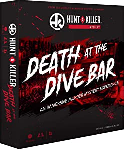 Hunt A Killer Death at The Dive Bar, Immersive Murder Mystery Game -Take on the Unsolved Case as an Independent Challenge, for Date Night or with Family & Friends as Detectives for Game Night, Age 14+