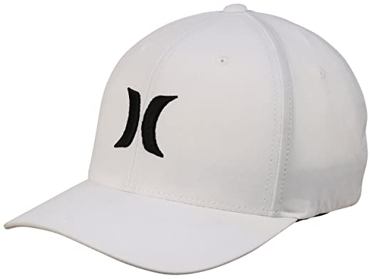Image Unavailable. Image not available for. Color  Hurley Dri-Fit One and Only  Hat - White Black - L XL e4ed0ba0a457