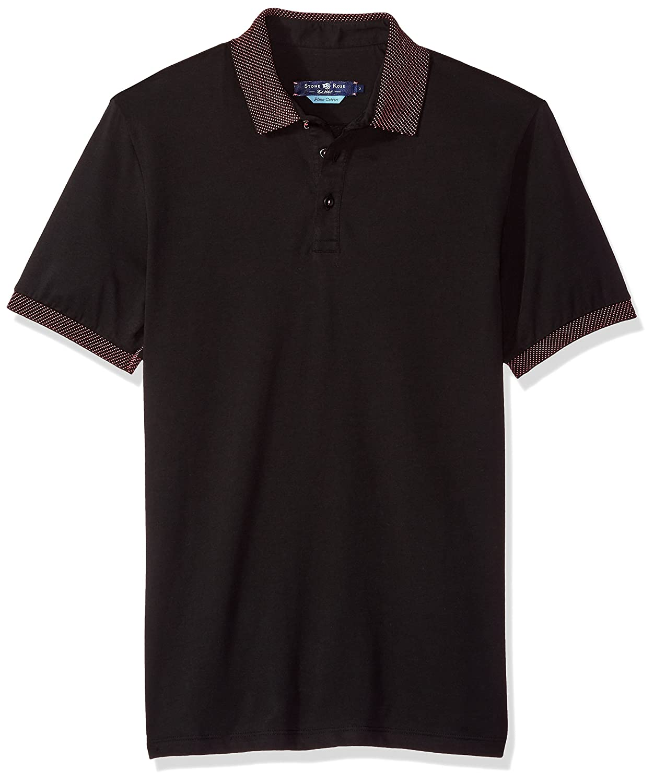 Stone Rose Mens Contemporary Fit Polo Shirt
