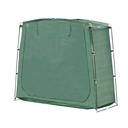 ALEKO SS70GR Portable Pop Up Bike Tent Bicycle Storage Shed Weather Resistant Protection Outdoor with Carrying  sc 1 st  Amazon.com & Amazon.com : ALEKO SS70GR Portable Pop Up Bike Tent Bicycle Storage ...