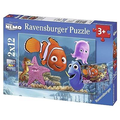 Ravensburger Nemo - Puzzle, 2 x 12 Piezas 07556 0: Juguetes y juegos