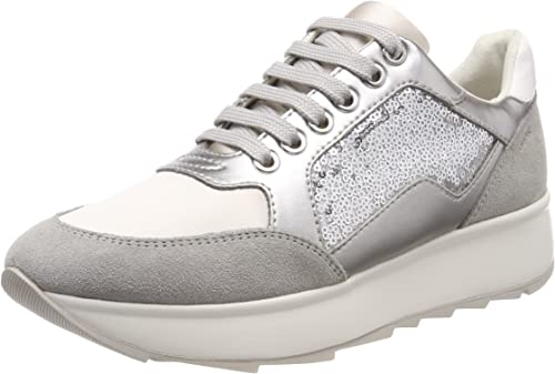 Crueldad Lago taupo roble  Amazon.com | Geox Women's D Gendry B Trainers | Fashion Sneakers