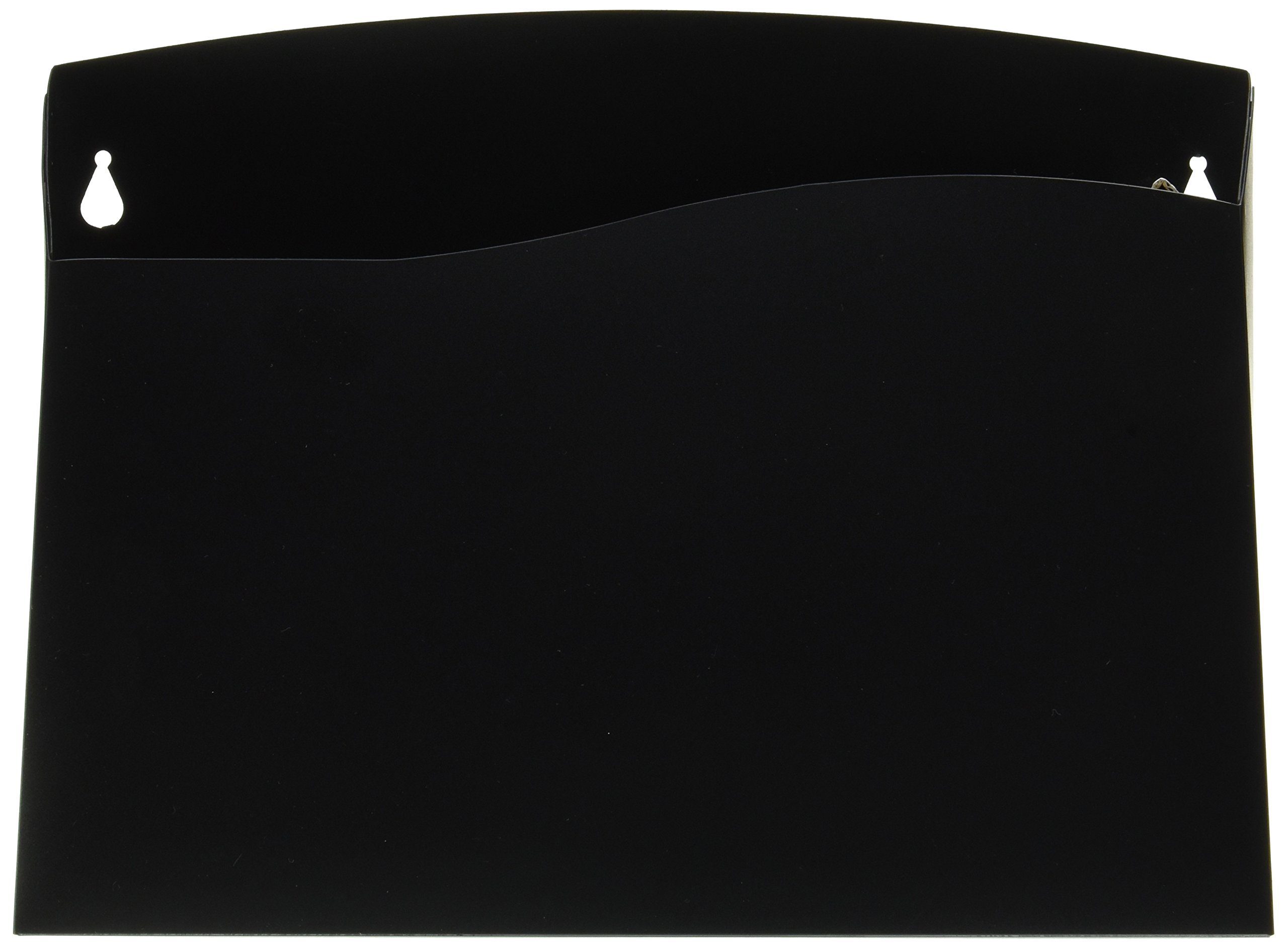 Avery Cubicle Wall File Pocket, Black, Letter Size (73515)