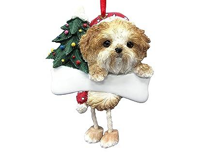 Amazon.com: Shih Tzu Ornament Puppy Cut with Unique