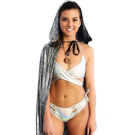 Amazon Com Cloak With Hood Medieval Women Men Super Hero Costume