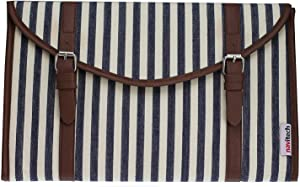Navitech Canvas Fabric Style Laptop Sleeve Bag Case Cover Compatible with TheDell Latitude 3390 2-in-1