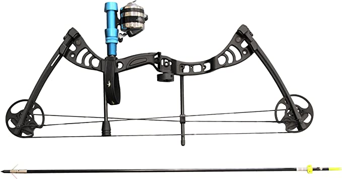Rest SAS Scorpii Compound Bowfishing Bow Winch Pro Reel with Line Package Arrow
