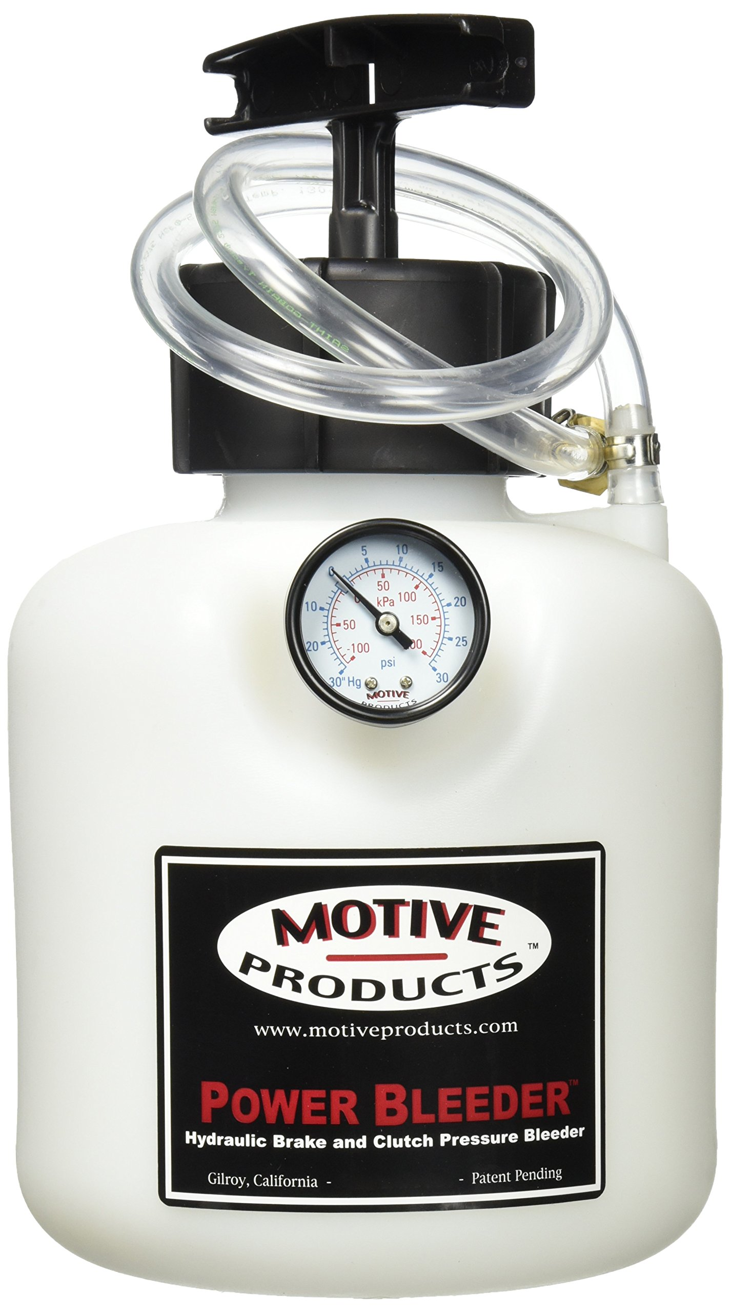 Motive Products Power Bleeder Kit For Ford/Japanese and Korean Import 3-Tab (0117)