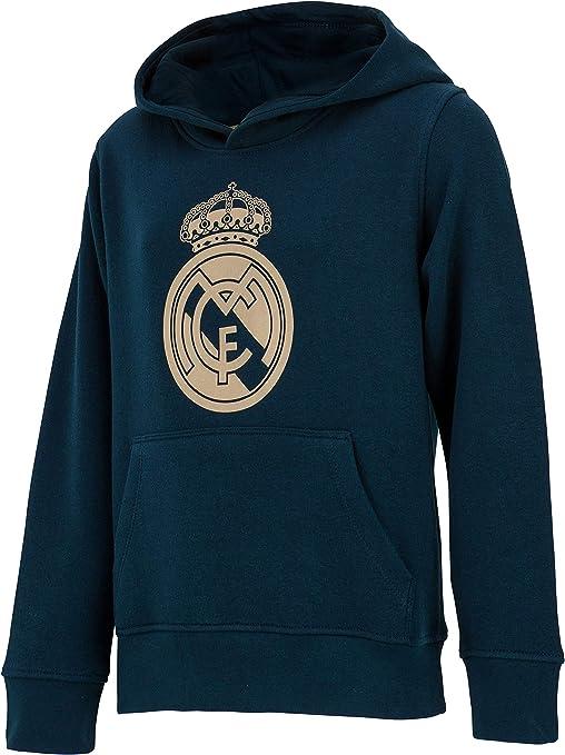 Real Madrid Sudadera con Capucha Colección Oficial - Niño: Amazon ...