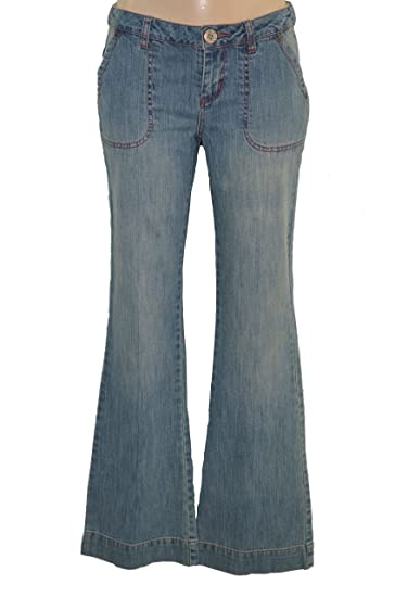 aa848422 IKKS Jeans Femme Stretch Jean Extra FIT Bleu Taille 32 34 36 38 40 42 Neuf