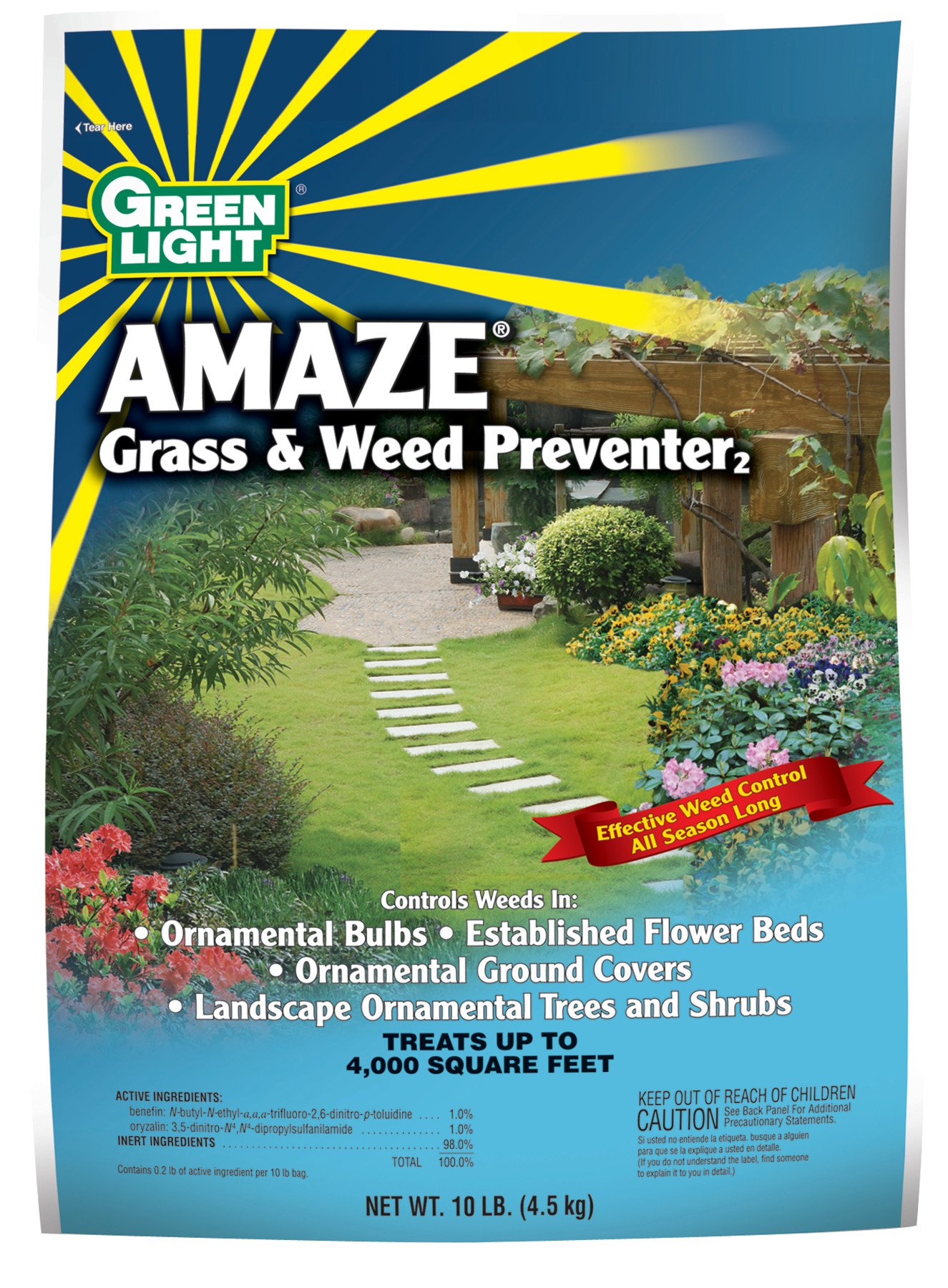 Green Light Amaze Grass and Weed Preventer, 10 Pound by Green Light