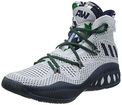 Basket Bianco Adidas Crazy Explosive Low scarpe da basket