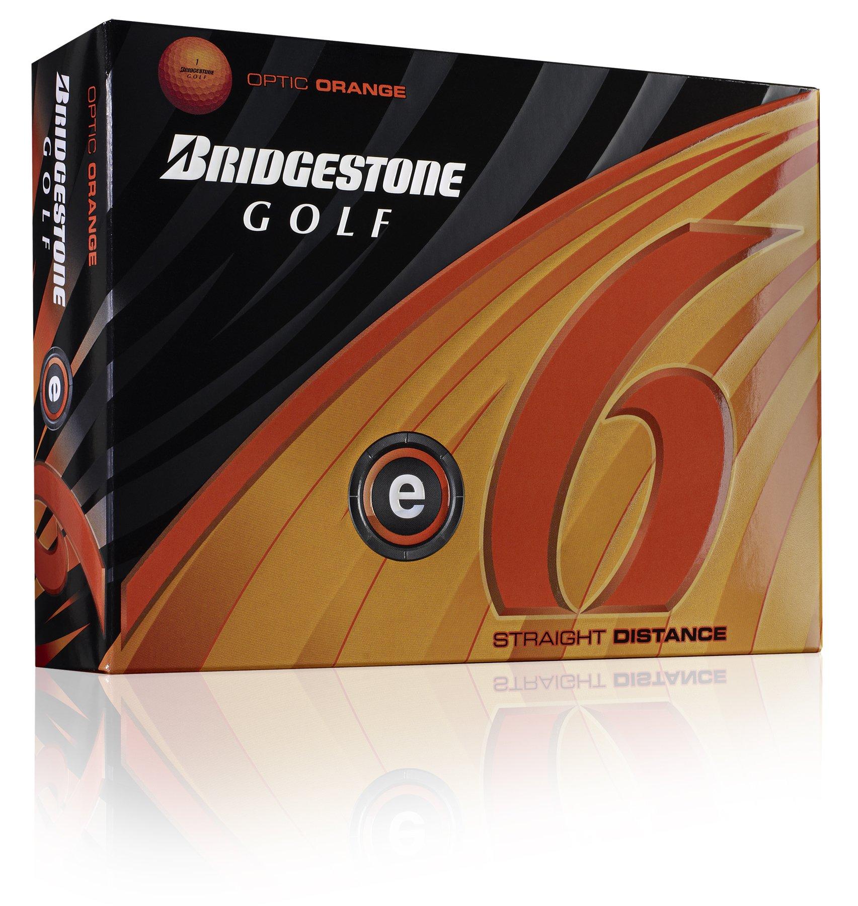 Bridgestone E6 Optic Orange Golf Ball (2011 Model) by Bridgestone Golf