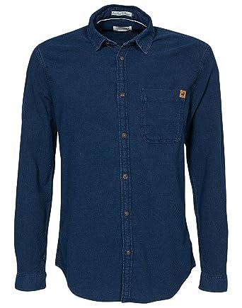 99049b6c1ba Jack   Jones Men s Dalo Shirt One Pocket Dark Blue Size XX-Large 100 ...