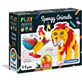 Clementoni - 15284 - Play Creative - Sünger Hayvanlar