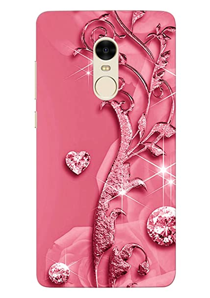 half off 5aff5 dc188 100 Degree Celsius Hard Back Cover For Redmi Note 4 (Pink)