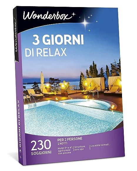 WONDERBOX Cofanetto Regalo - 3 Giorni di Relax - 230 SOGGIORNI per 2 ...
