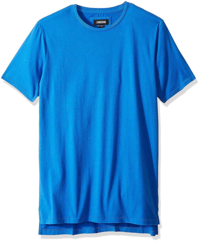 Zanerobe Men\'s Elongated Split Side Flintlock Short Sleeve Tee Shirt