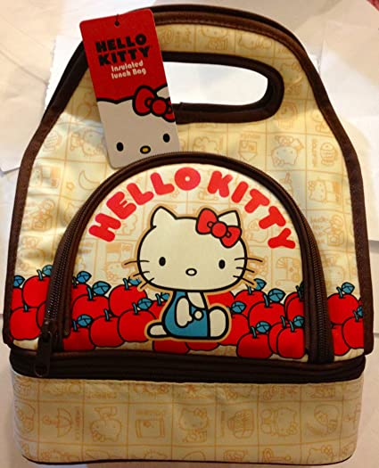 45092b4323 Image Unavailable. Image not available for. Color  New Model Hello Kitty  Insulated Lunch Bag ...