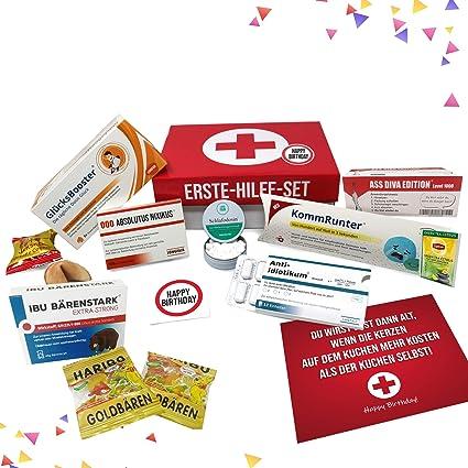 Geburtstagsgeschenk Erste Hilfe Set Geschenk Box Witziger