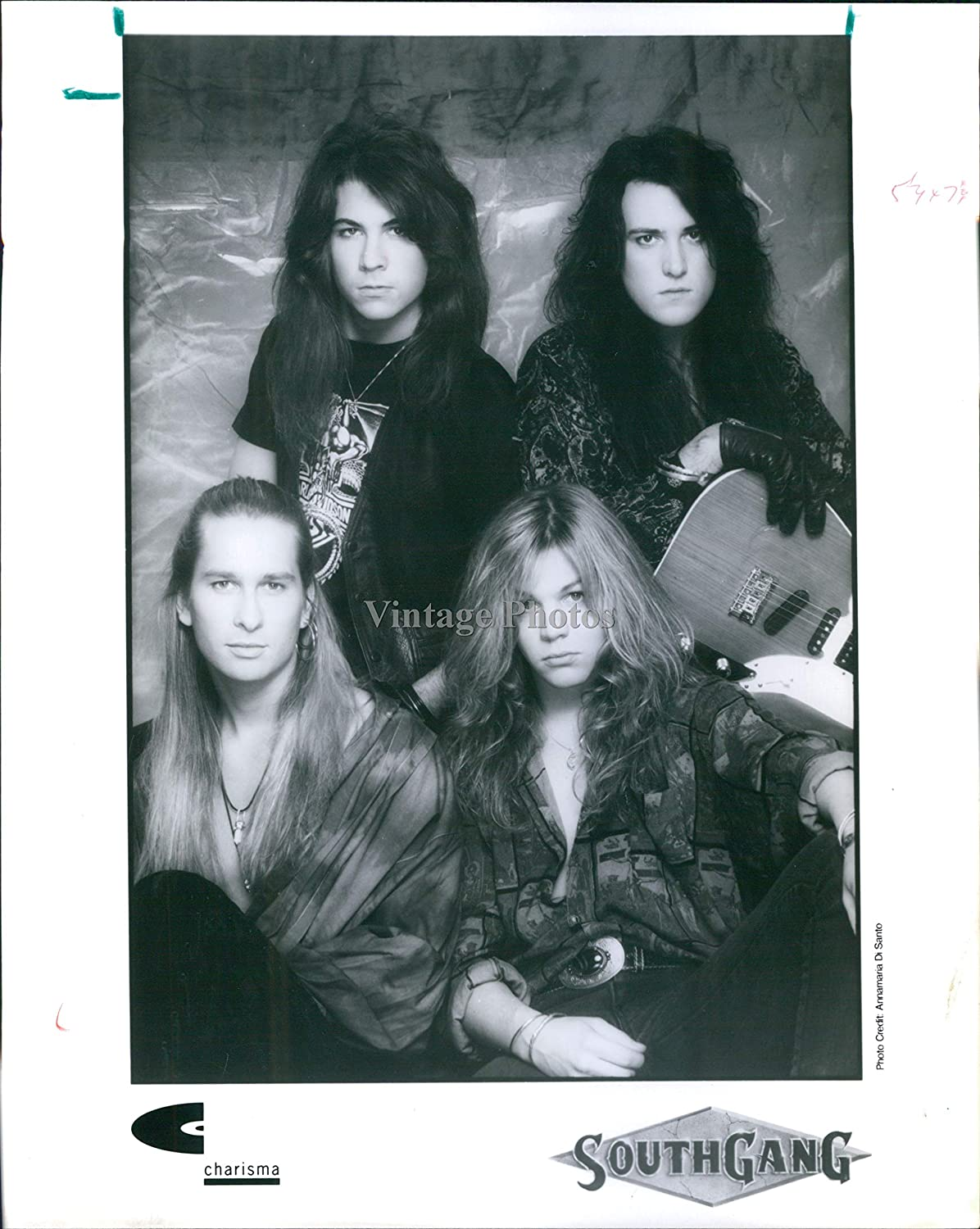 1991 Vintage Magazine Ad Page Southgang Tainted Angel Debut Album Release
