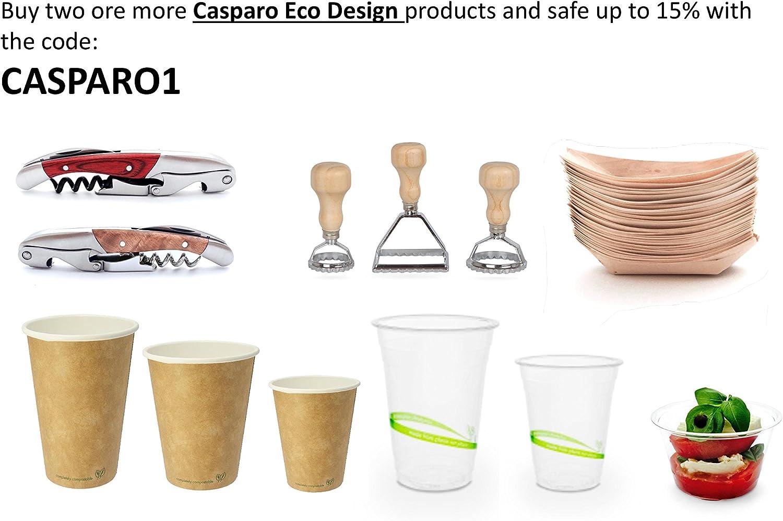 Gants a 100/% compostables Sans plastifiants malsains et sans produits chimiques /Écologique 100 x Gants jetables id/éal pour les denr/ées alimentaires Casparo Eco De Gants jetables organiques