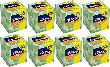 dise/ño de cubo Kleenex Pa/ñuelos 56 unidades